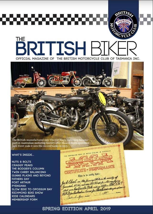The British Biker Spring 2019